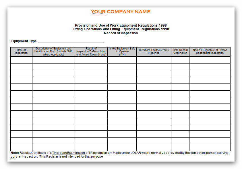 Automotive Inspection Forms Free  Fill Online Printable
